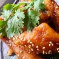料理メニュー写真手羽の辛鶏