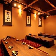 20名様までご利用可能の完全個室完備☆与野での宴会に!