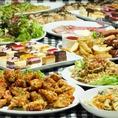 宴会、歓送迎会に対応した種類豊富なコース
