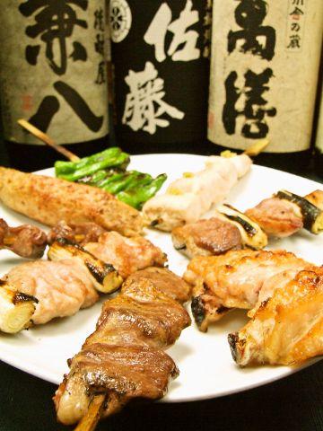 新宿で本物の串焼きを食べるならココ!丁寧に丁寧に焼き上げた絶品串焼き専門店。