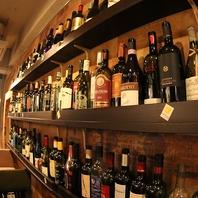 ソムリエが選んだ20種類以上のイタリアワインを金山で!