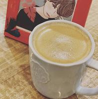 【カフェ】coffeeMENU充実♪