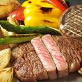 和牛もお野菜も鮮度が高い食材を使用しております。誕生日や記念日にピッタリのコース料理もたくさんございますので、お気軽にご予約ください。