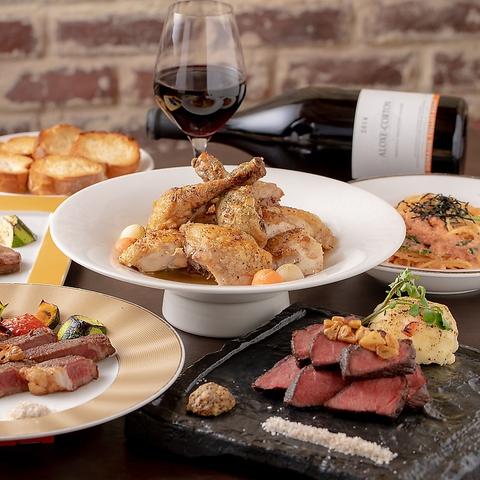 オーブン料理のお店【GRILL&ROAST53】おびやまち小路内・ワインを嗜む大人の行きつけ