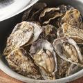 料理メニュー写真播磨灘燦殻付蒸し牡蠣 小