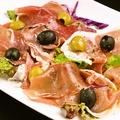料理メニュー写真イタリア産 生ハムプレート 1