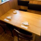 3名様掛けのテーブル席もございます♪