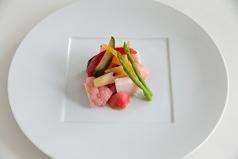 料理メニュー写真野菜ソムリエの自家製ピクルス