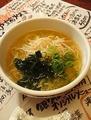 料理メニュー写真鳥取シンプル牛骨ラーメン