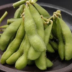 料理メニュー写真茹でたて枝豆
