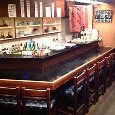 カウンター席 10名様までご利用になれます◎ 新宿西口 西武新宿 一人飲み 少人数飲み 鹿児島居酒屋 おいどん 西新宿