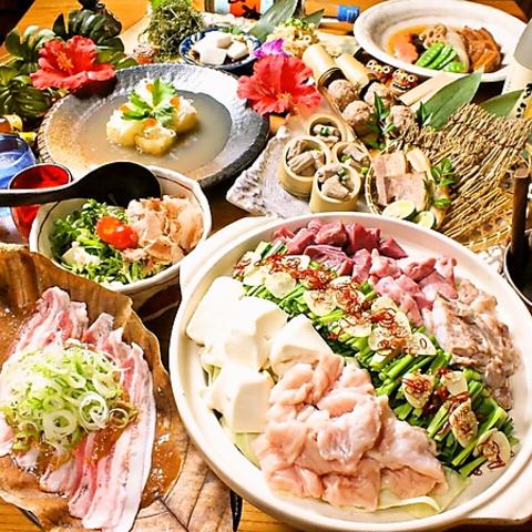 あったか~い沖縄で♪沖縄の健康食材&泡盛で南国式宴会で盛り上がろう♪