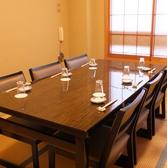 ゆったりとお寿司を堪能出来る2階のお座敷個室です。