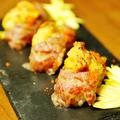 料理メニュー写真炙りうにボ寿司