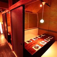 しっかりとした仕切りのある個室席で合コンや女子会にもおすすめです♪◆新宿×個室居酒屋◆