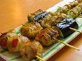 料理メニュー写真おくら巻/チーズ巻/ミニトマトの豚バラ巻