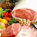 料理メニュー写真追加のお肉 極上黒毛和牛ヘレステーキ/極上但馬牛ロース50g