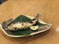 天然あゆ この夏は是非とみ笑で川魚を!