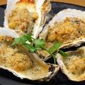 料理メニュー写真牡蠣のガーリックバター焼き(1P~)