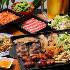 横浜モアーズ食べ放題 BBQビアガーデンのコース写真