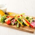 料理メニュー写真農園野菜のガーデンバーニャカウダ