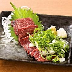 九条ねぎ桜肉刺