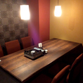 【個室(テーブル席)】結納や両家顔合わせにもオススメのテーブル個室