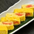 料理メニュー写真【博多】地鶏の明太玉子焼き