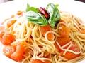 料理メニュー写真トマトとバジル