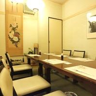 千葉駅近くで帰りも安心。落ち着いた大人の和食宴会を