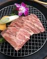 料理メニュー写真ハラミステーキ