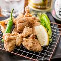 料理メニュー写真古処鶏の唐揚げ