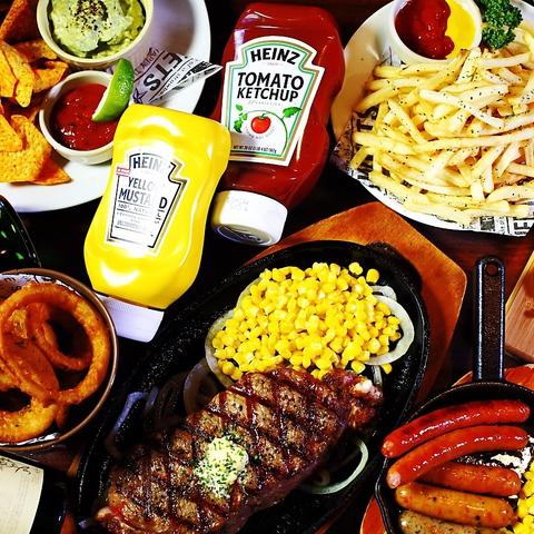 一度食べたら癖になる・・。女子会にも人気!肉ならジャンキー!