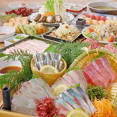 わら焼きと地酒 九州魚鮮 谷町四丁目店のコース写真