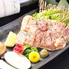 料理メニュー写真淡路島産朝引き地鶏ステーキ(もも肉)