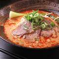 料理メニュー写真台湾マーラー牛肉麺