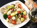 料理メニュー写真シェフおまかせ秋野菜サラダ