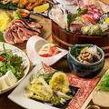 料理メニュー写真最高級食材使用!旬の食材にこだわった地鶏宴会コース