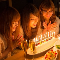 人気の誕生日・記念日特典