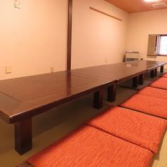 打ち上げや会社宴会など大人数でのご宴会にお勧めなお席もご用意しております