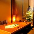 【プライベート個室】嬉しい個室は大・小ご宴会に最適♪他のお客様との接触を避け、周りを気にせずにごゆっくりとお楽しみ頂けます!