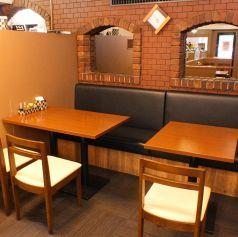 2名様~OKのテーブル席
