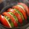 料理メニュー写真モッツァレラチーズの焼きカプレーゼ