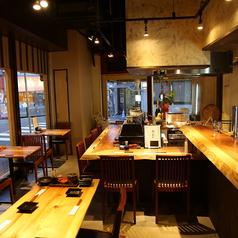 鮮魚と鴨 酒 蕎麦 みかど 西九条店の雰囲気3