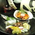 料理メニュー写真本日の鮮魚のお刺身 盛り合わせ