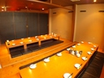 個室宴会は10名~最大32名まで可能!会社宴会等の各種宴会に◎