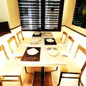 スタイリッシュなテーブル個室(~6名様)