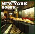 【NEWYORK~ニューヨーク~】 4名席がメインのブース。 すっきりとした配席が特徴でグランドピアノも常設。 コンサート会場として使って頂いてます♪