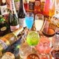 ◆ドリンクは130種類以上!甘い系からさっぱり系まで♪ドリンクの種類の多さに迷ったら、スタッフにおすすめを聞いてみるのも◎単品飲み放題もあります!