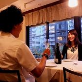 記念日などの特別なデートは静かな空間でお祝い♪相手の方も喜ぶこと間違いなし!